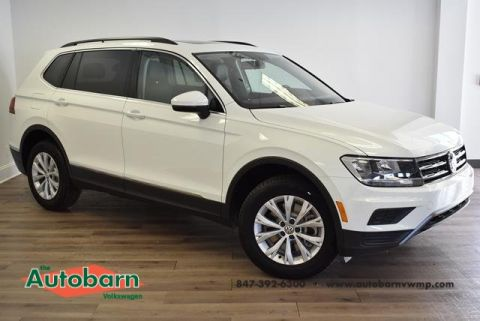 New 2018 Volkswagen Tiguan SE AWD 4Motion