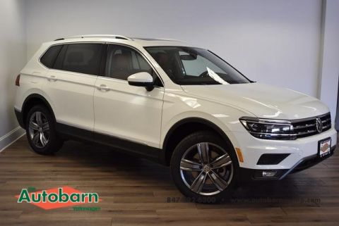 New 2018 Volkswagen Tiguan SEL Premium with 4MOTION®